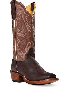 Cinch Classic Vintage Cowboy Boots - Square Toe