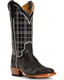 Cinch Classic Mad Dog Goatskin Copper Cowboy Boots - Square Toe