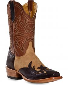 Cinch Classic Piel Yetti Cowboy Boots - Square Toe
