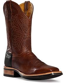 Cinch Classic Goatskin Cowboy Boots - Square Toe