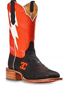 Cinch Edge Bolt Cowboy Boots - Square Toe