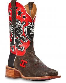 Cinch Edge Leon Cowboy Boots - Square Toe