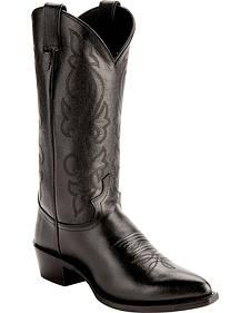 Justin Corona Cowboy Boots - Pointed Toe