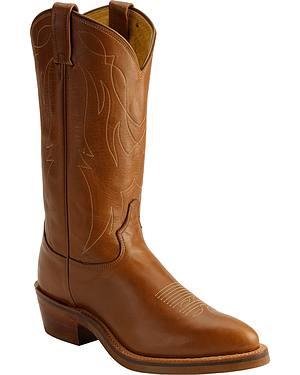 Tony Lama Western Work Boots - Medium Toe