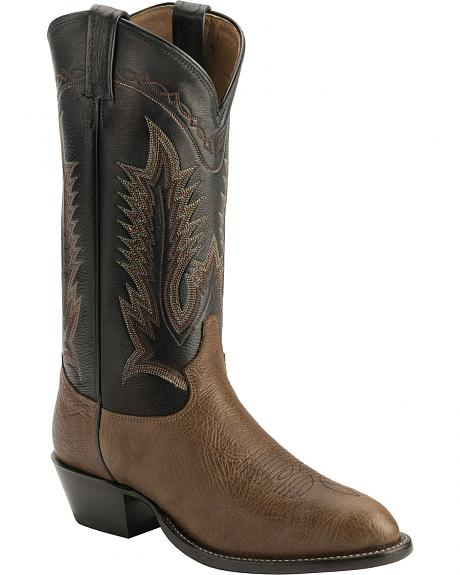 Tony Lama Shoulder Cowboy Boots - Medium Toe