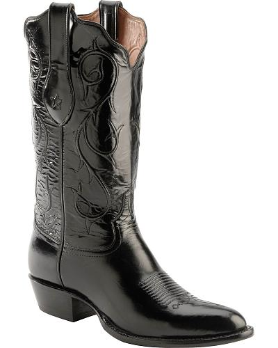 Tony Lama Signature Series Brushed Goat Cowboy Boots Round Toe Western & Country 1009