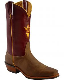 Nocona Men's Arizona State University College Boots - Square Toe
