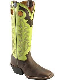 Tony Lama 3R Buckaroo Boots - Square Toe