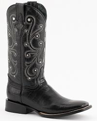 Ferrini Belly Caiman Alligator Print Cowboy Boots at Sheplers