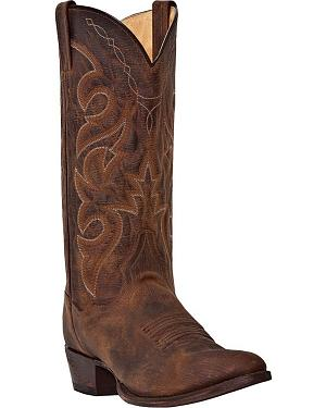 Dan Post Renegade Cowboy Boots - Round Toe