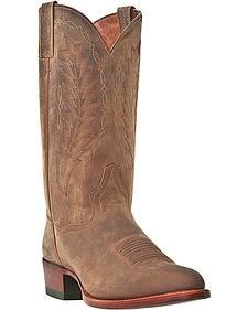 Dan Post Josh Cowboy Boots - Round Toe