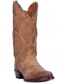 Dan Post Albany Cowboy Boots - Round Toe