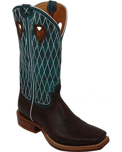 Twisted X Ruff Stock Cowboy Boots Square Toe Western & Country MRSL020