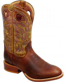 Twisted X Stockman Cowboy Boots - Round Toe