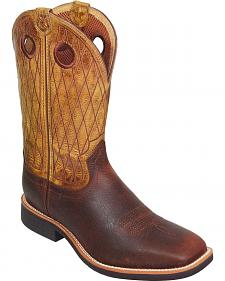 Twisted X Top Hand Cowboy Boots - Square Toe