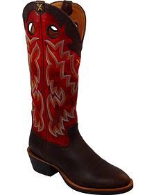 Twisted X Buckaroo Cowboy Boots - Round Toe