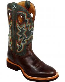 Twisted X Horesman Cowboy Boots - Round Toe