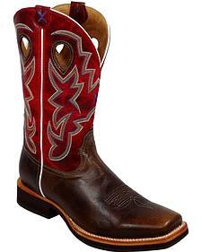 Twisted X Horseman Cowboy Boots - Square Toe