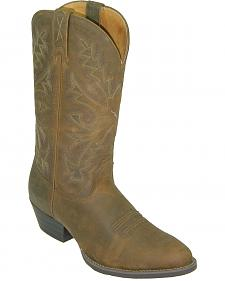 Twisted X Western Distressed Brown Cowboy Boots - Round Toe