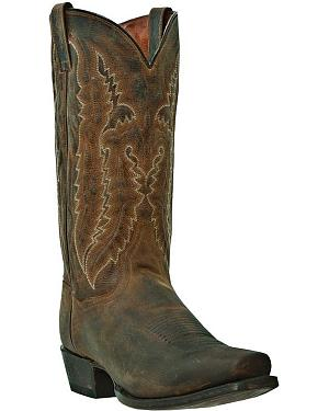 Dan Post Earp Cowboy Boots - Square Toe