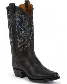 Tony Lama Signature Series Rista Calf Cowboy Boots - Square Toe