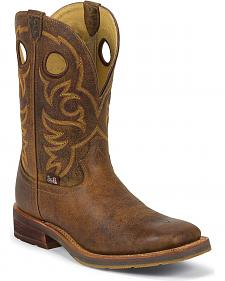 Justin 1879 Cowboy Boots - Square Toe