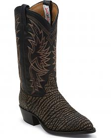 Tony Lama San Saba Distressed Cowboy Boots