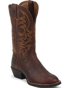 Tony Lama 3R Pitstop Cowboy Boots - Round Toe