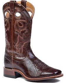 Boulet Stockman Cowboy Boots - Square Toe