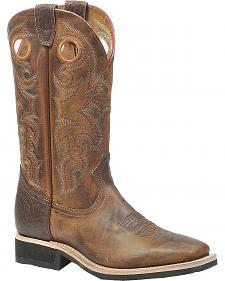 Boulet Rider Sole Cowboy Boots - Square Toe