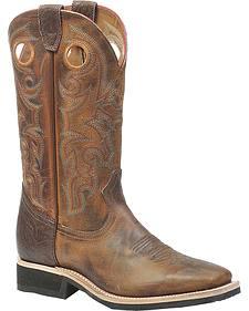 Boulet Rider Sole Cowboy Boots - Square Toe