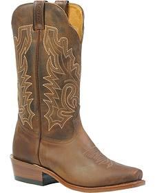 Boulet Cowboy Boots - Cutter Snip Toe