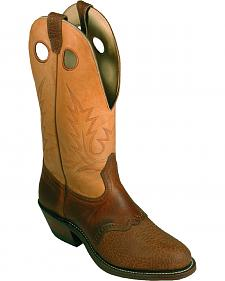 Boulet Buckaroo Cowboy Boots - Round Toe