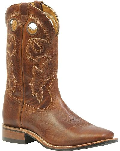 Boulet Rider Sole Cowboy Boots Square Toe Western & Country 3024