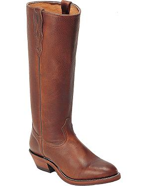 Boulet Shooter Cowboy Boots - Round Toe