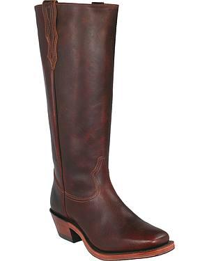 Boulet Shooter Cowboy Boots - Square Toe