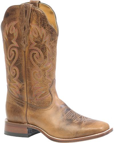 Boulet Basic Cowboy Boots Square Toe Western & Country 2198