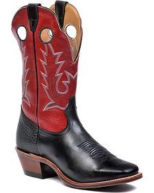 Boulet Rough Stock Cowboy Boots - Square Toe