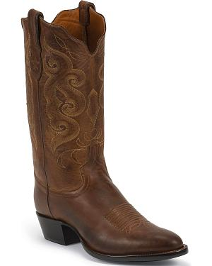 Tony Lama Signature Series Rista Calf Cowboy Boots - Round Toe