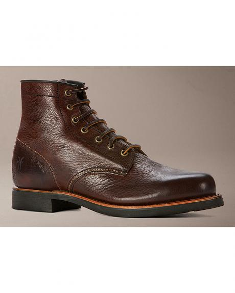 Frye Men's Arkansas Mid Lace Boots - Round Toe