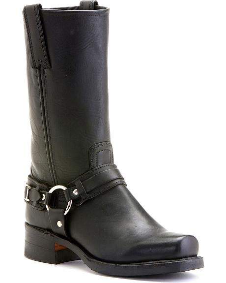 Frye Men's Belted Harness 12R Boots - Square Toe