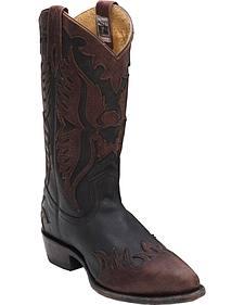 Frye Men's Billy Firebird Cowboy Boots - Round Toe