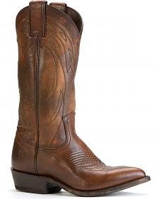 Frye Men's Billy Pull-on Cowboy Boots - Round Toe