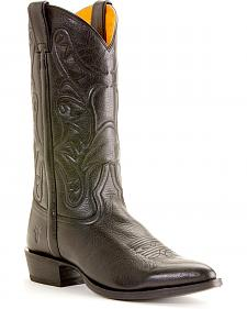Frye Men's Bruce Pull-on Cowboy Boots - Round Toe