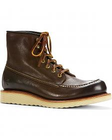 Frye Men's Dakota Wedge Boots - Round Toe