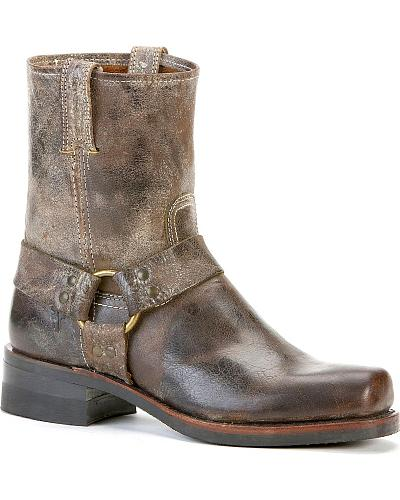 Frye Mens Harness 8R Boots Square Toe Western & Country 87402-CHO