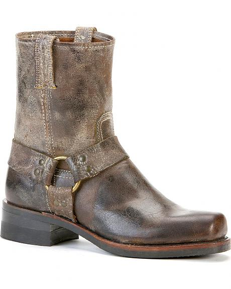 mens frye harness boots images