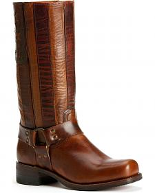 Frye Men's Harness Americana Tall Boots - Square Toe