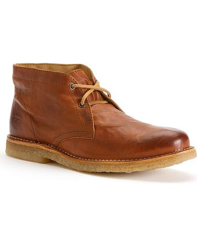 Frye Mens Hudson Chukka Shoes Western & Country 87091-COG