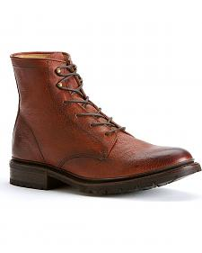 Frye Men's James Lug Lace-up Boots - Round Toe